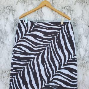 Talbots pencil skirt size 14w